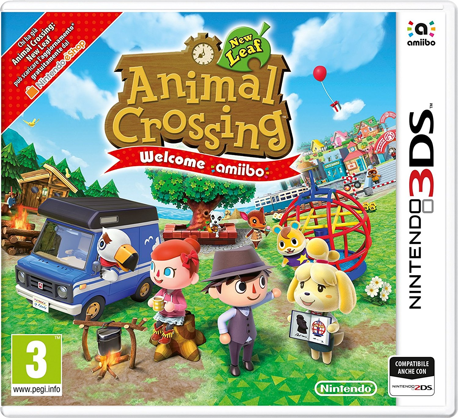 Animal Crossing: New Leaf (Welcome amiibo)