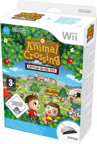 Animal Crossing: Let's Go To The City (con Wii Speak)