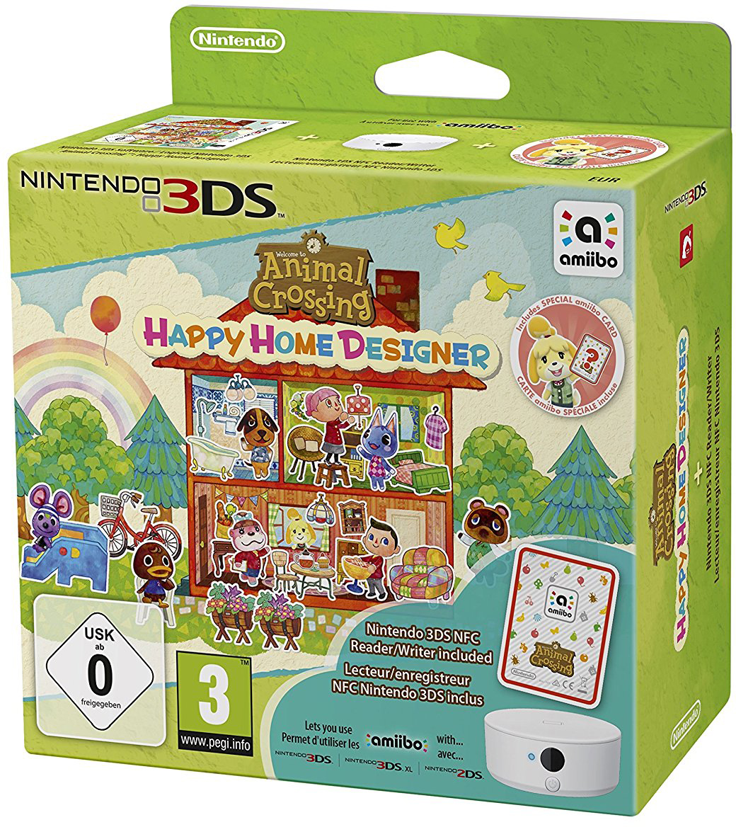Animal Crossing: Happy Home Designer (con lettore NFC e carta amiibo)