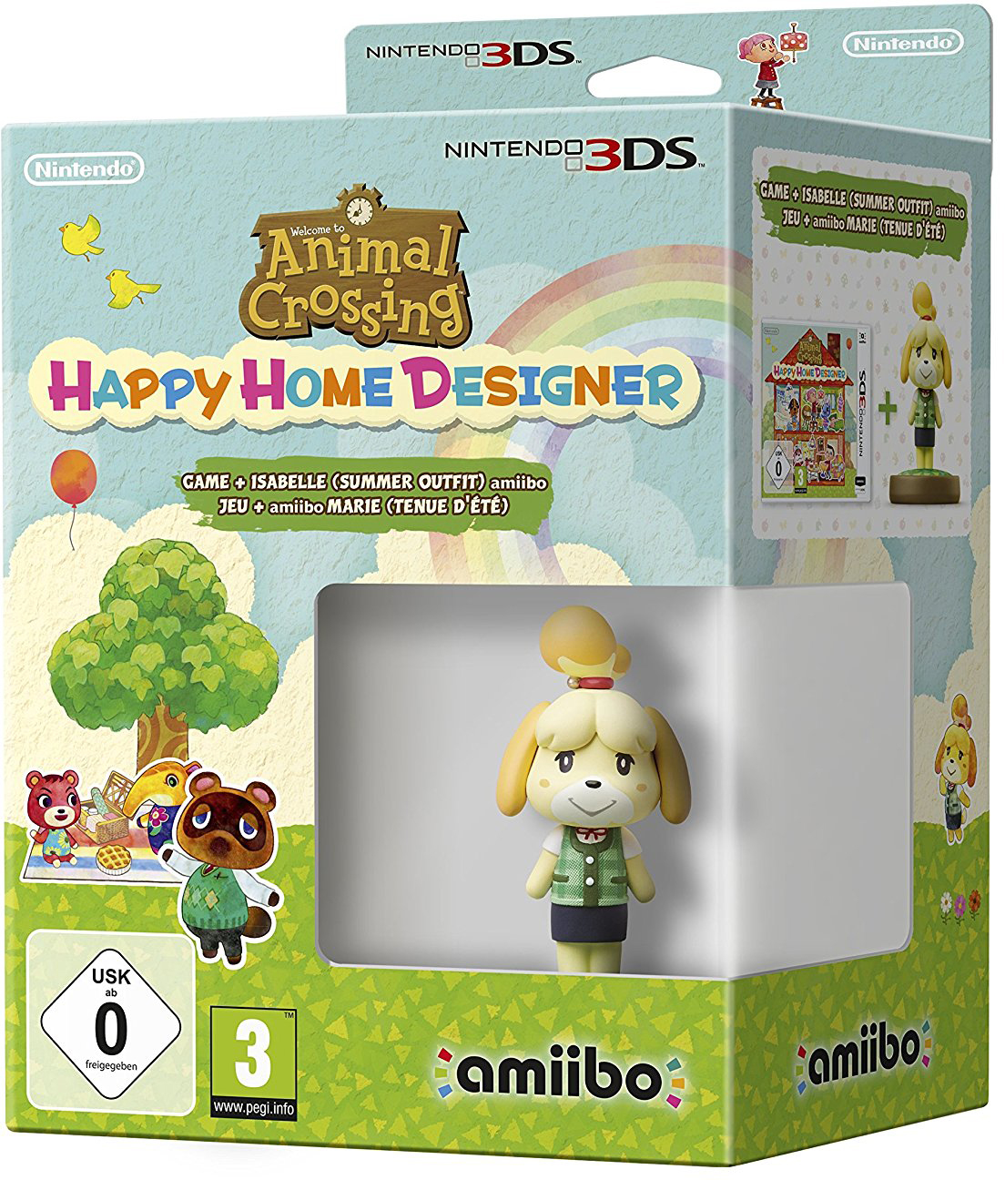Animal Crossing: Happy Home Designer (con amiibo Fuffi Vestito Estivo)