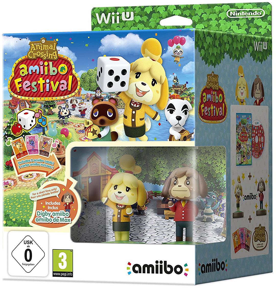 Animal Crossing: amiibo Festival (con amiibo Fuffi e Fofò e 3 Carte amiibo)