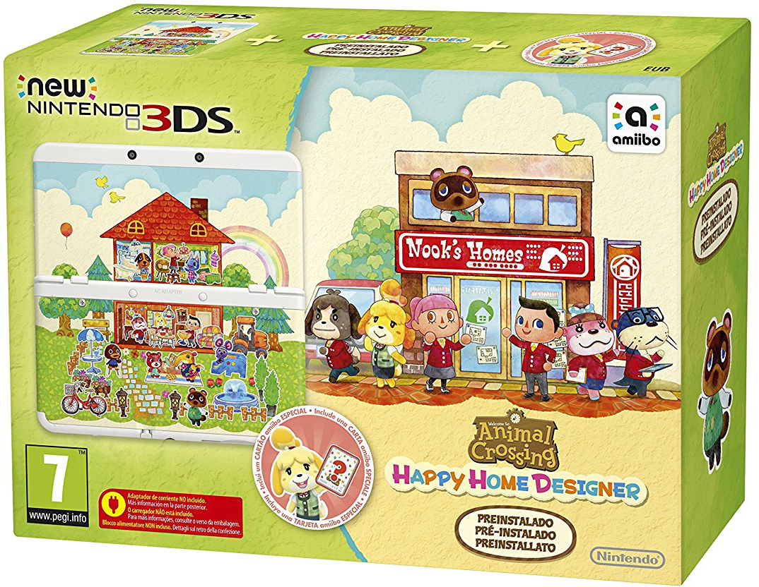New Nintendo 3DS e Animal Crossing: Happy Home Designer