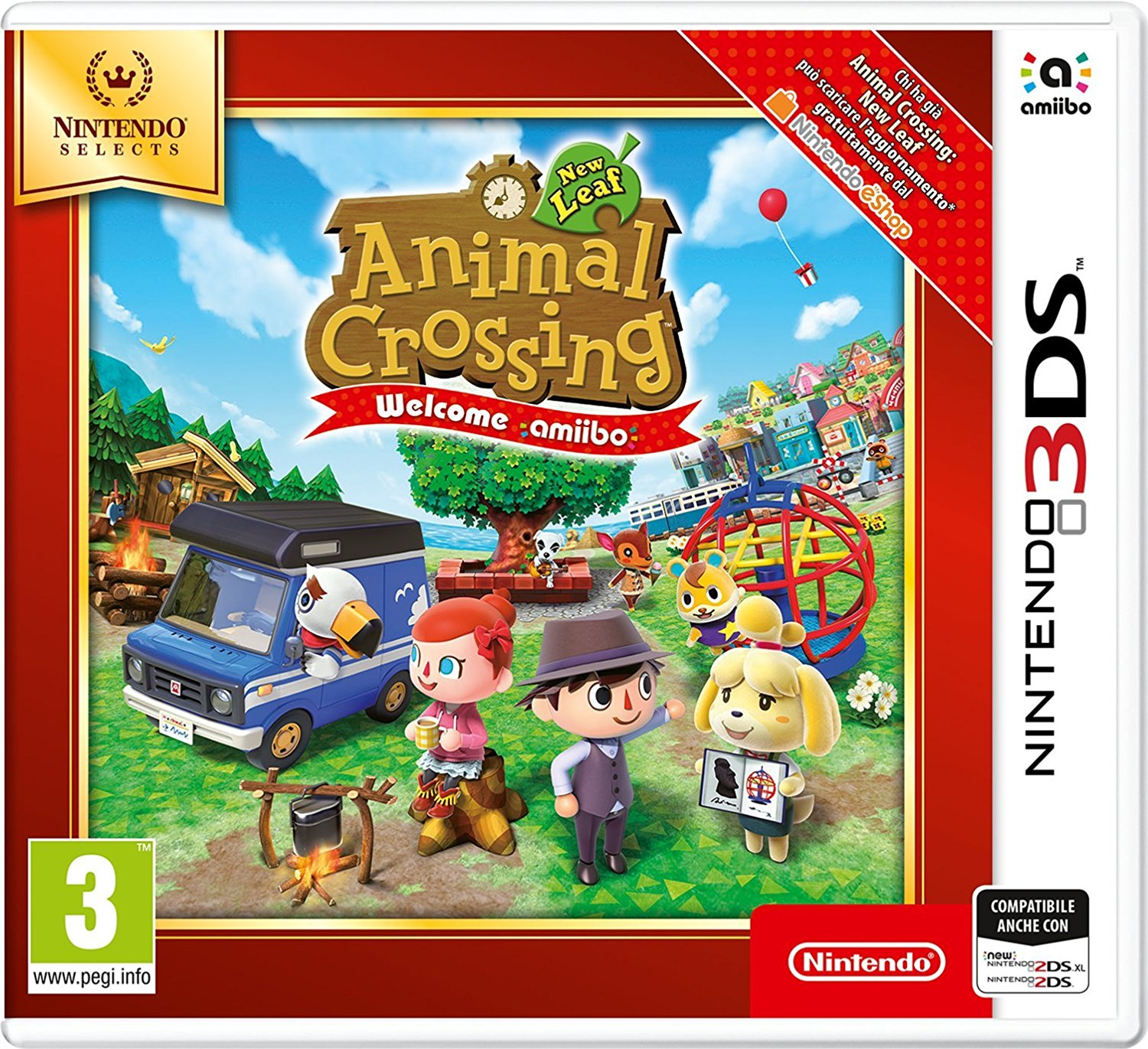 Animal Crossing: New Leaf (Welcome amiibo) – Nintendo Selects