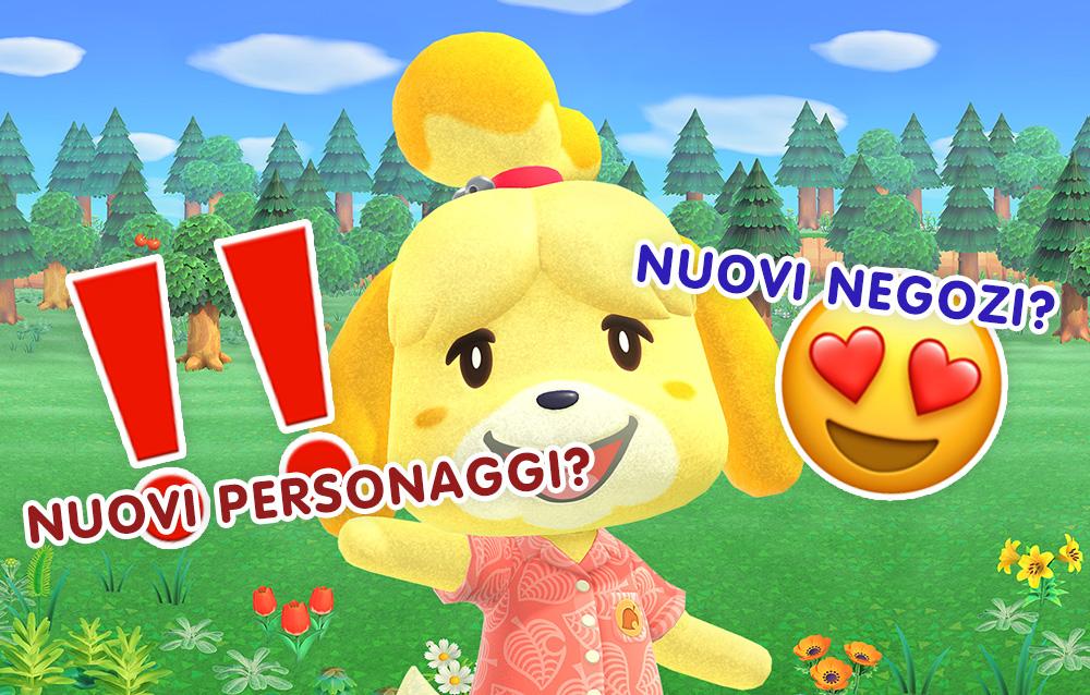 Ecco tutte le possibili novità ed espansioni future di Animal Crossing: New Horizons scoperte da un dataminer!