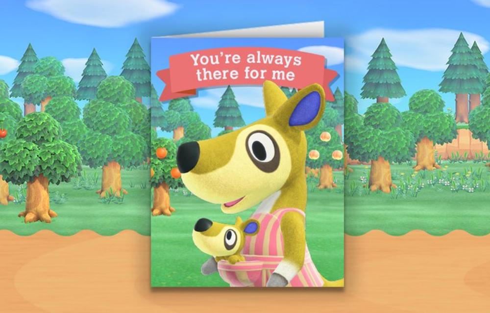Nintendo ha condiviso una cartolina per la festa della mamma a tema Animal Crossing!