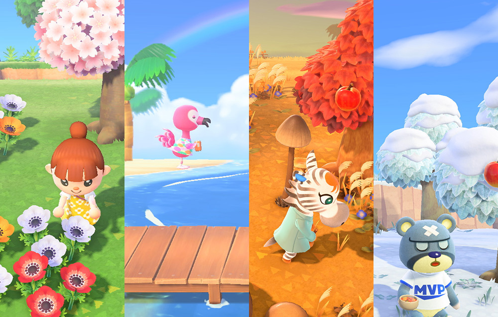 Tutte le differenze tra i due emisferi in Animal Crossing: New Horizons
