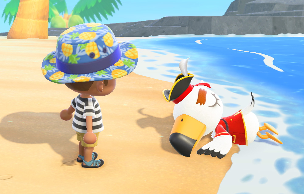 Come ottenere la serie pirata in Animal Crossing: New Horizons