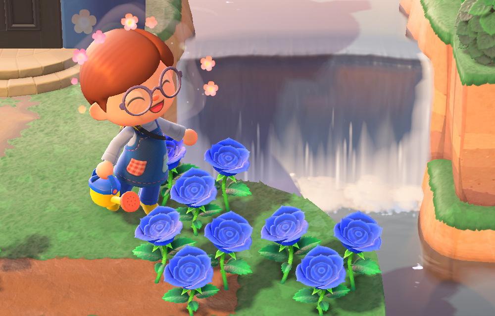 Come ottenere la rosa blu tramite il processo di ibridazione in Animal Crossing: New Horizons