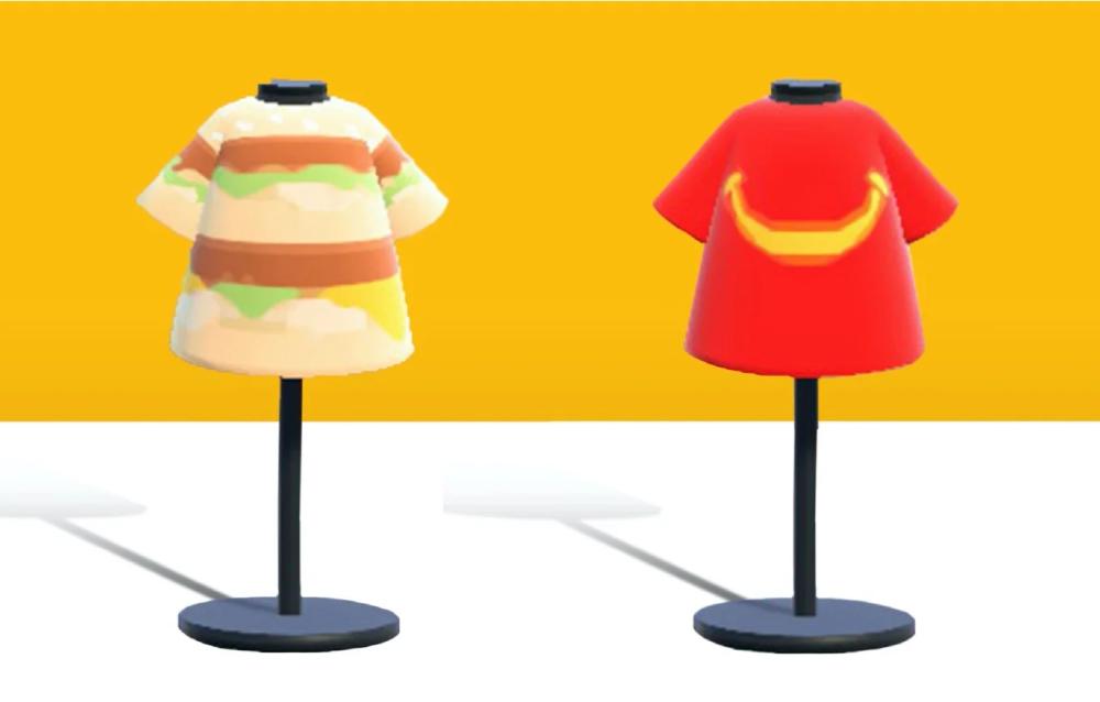 McDonald's mette a disposizione dei modelli per Animal Crossing: New Horizons!