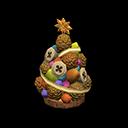 Alberello frutti dell'albero (Marrone)