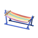 Amaca (Blu, Multicolore)