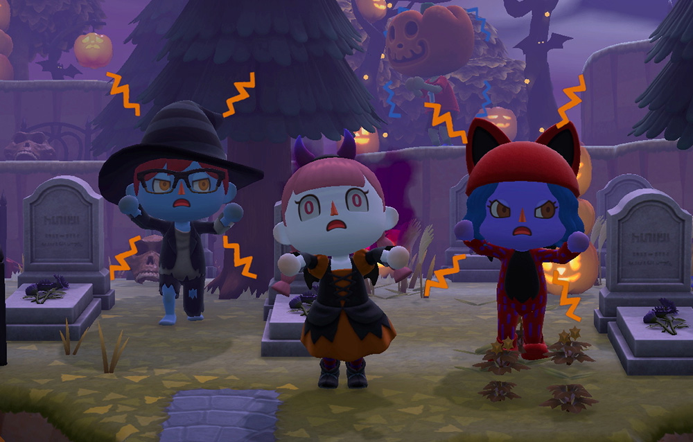 Come personalizzare il proprio personaggio e travestirsi per Halloween in Animal Crossing: New Horizons