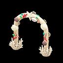 Arco conchiglia (Bianco)