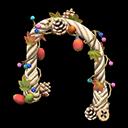 Arco frutti dell'albero (Bianco)