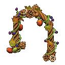 Arco frutti dell'albero (Marrone)