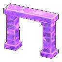 Arco iceberg (Viola ghiaccio)