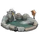 Bagno termale (Grigio)