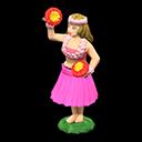 Bambola hawaiana (Rosa)