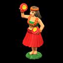 Bambola hawaiana (Rosso)