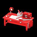 Banco da lavoro grazioso (Rosso)