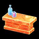 Bancone iceberg (Arancione ghiaccio)