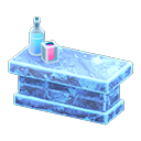 Bancone iceberg (Blu ghiaccio)