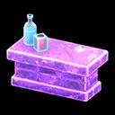 Bancone iceberg (Viola ghiaccio)