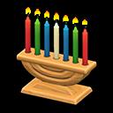 Candelabro celebrativo (Marrone chiaro)