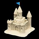 Castello di sabbia (Sabbia bianca)