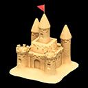 Castello di sabbia (Sabbia naturale)