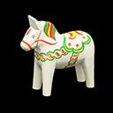 Cavallo Dala (Bianco)