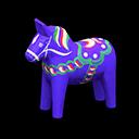 Cavallo Dala (Blu)