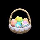 Cesto caccia all'uovo