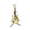 Chitarra elettrica (Bianco chic, Pop)