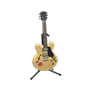 Chitarra elettrica (Legno naturale, Pop)