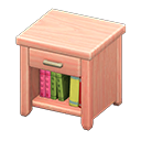 Comodino di legno (Legno rosa)