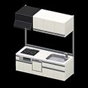 Cucina modulare (Bianco panna)