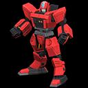Eroe robot (Rosso)