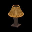 Lampada Da Tavolo Di Rattan Marrone Animal Crossing Life