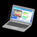 Laptop (Argentato, Chat)