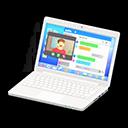 Laptop (Bianco, Chat)