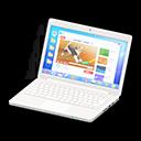 Laptop (Bianco, Internet)