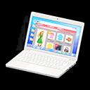 Laptop (Bianco, Shopping online)