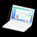 Laptop (Bianco, Statistiche)