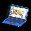 Laptop (Blu, Internet)