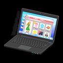 Laptop (Nero, Shopping online)