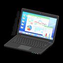Laptop (Nero, Statistiche)