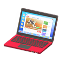 Laptop (Rosso, Internet)