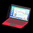 Laptop (Rosso, Statistiche)