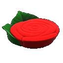 Letto a rosa (Rosso)